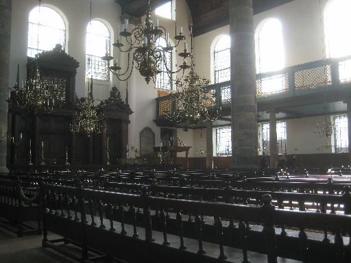The Portuguese Synagogue, part of the Jewish Museum complex