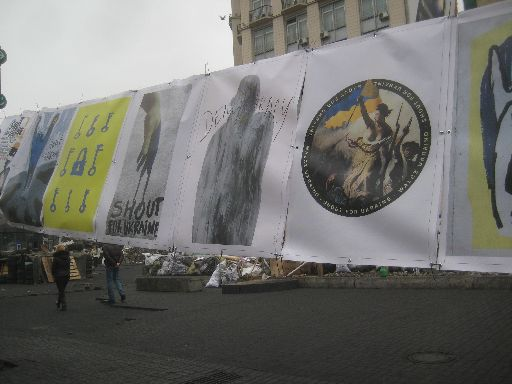 More Euromaidan art