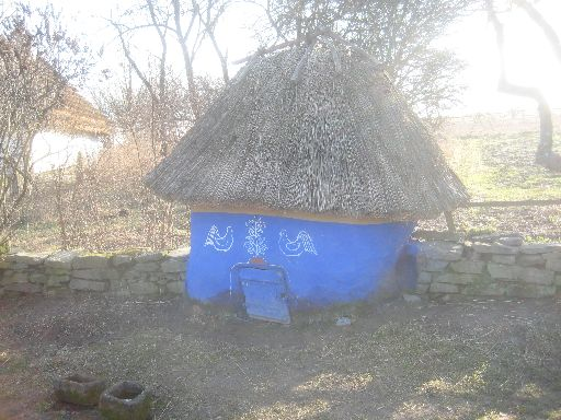 ...near a chicken coop, both in the Potlillya 'village' (after a farmstead of village Garyachyntsi)