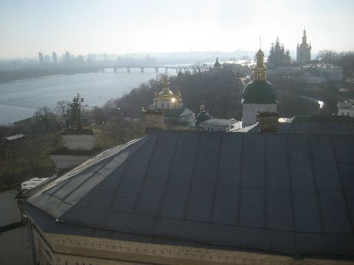Kyiv and the Dnieper from Lavra