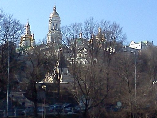 Lavra complex viewed from the Dnieper